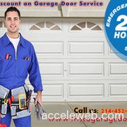 Discount on garage door service